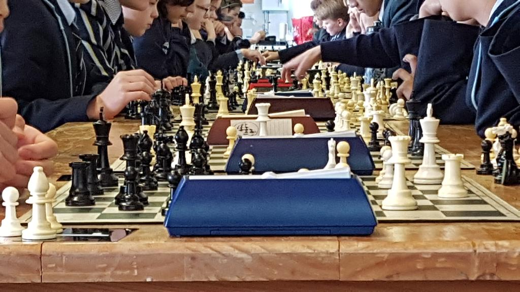 What a demonstration of skill & strategy! ACT Secondary School South Canberra Chess Competition, hosted by CGS at The Pavilion, with over 30 students representing CGS!