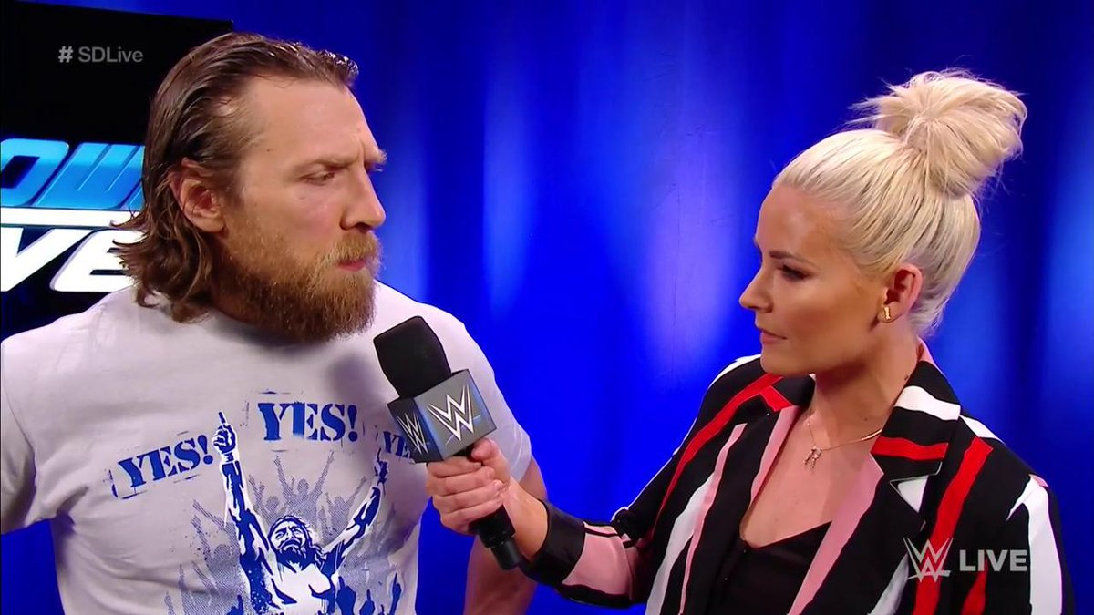 .@WWEDanielBryan isn't just going to survive the #GauntletMatch... he says he's going to WIN IT ALL! #SDLive