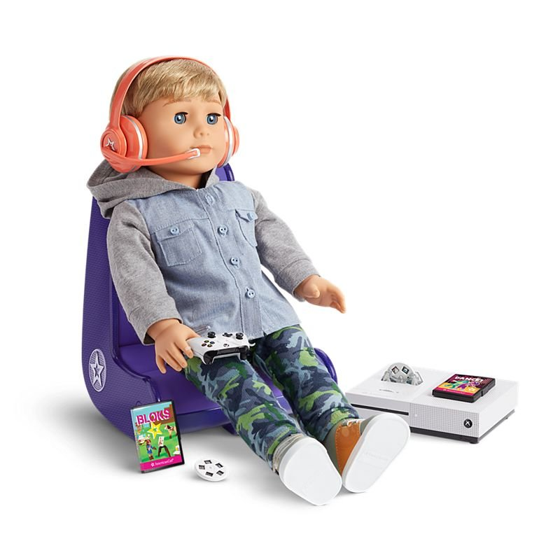 American Girl Xbox Gamer Doll Set Now Exists - https://t.co/Dyy30ZPbfR