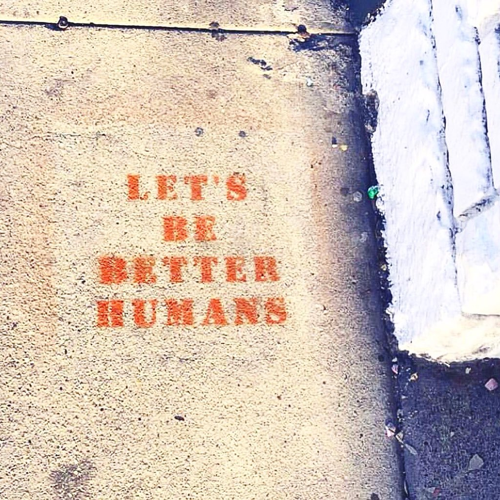 Not political. Just humane.