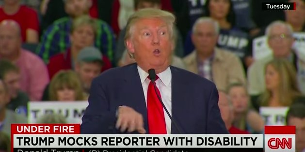 How could Corey Lewandowski possibly think he could get away with such a crass, disgusting mockery of someone with disabilities????