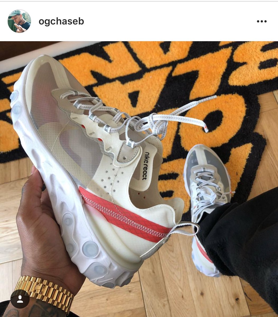 Haven't been this excited about a new Nike silhouette since vapormax. Nike React Element 87