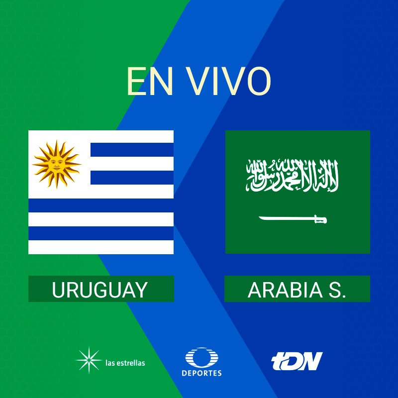 #VamosConTodo   Disfruta la transmisión #URU vs #KSA #Rusia2018 EN VIVO por TDcom   ������ https://t.co/kDimow7FB8 https://t.co/ZKUGy0Fmmp