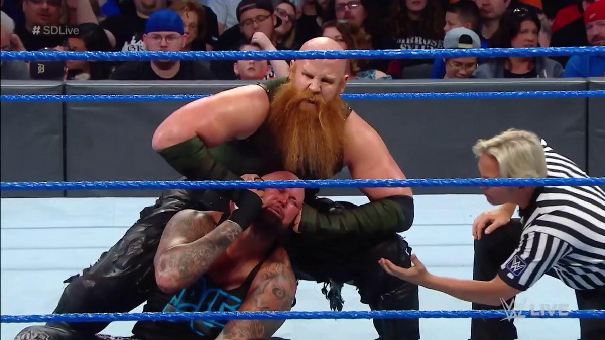 The #BludgeonBrothers show NO MERCY! #SDLive