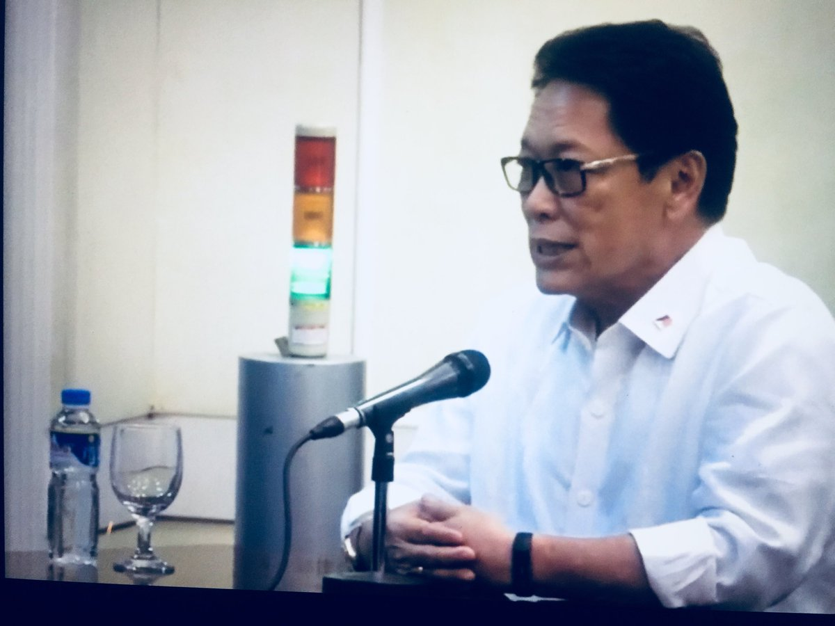 DOLE Sec. Silvestre Bello now being interviewed by JBC for Ombudsman post   via @InaReformina https://t.co/