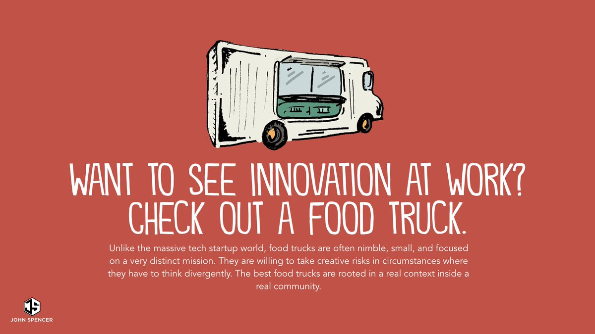 What can food trucks teach us about innovation?