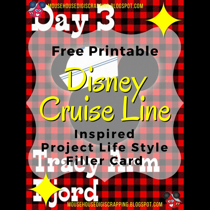 Mousehousedigiscrap On Twitter Todays First Alaskan Disney Cruise