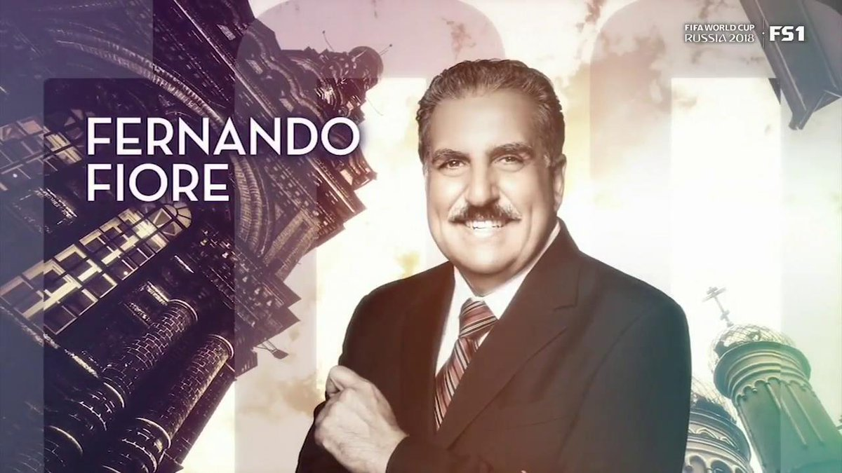 FIFA World Cup Tonight with @FernandoFiore starts NOW on FS1!