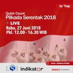 #pilkadaserentak2018 Twitter Photo