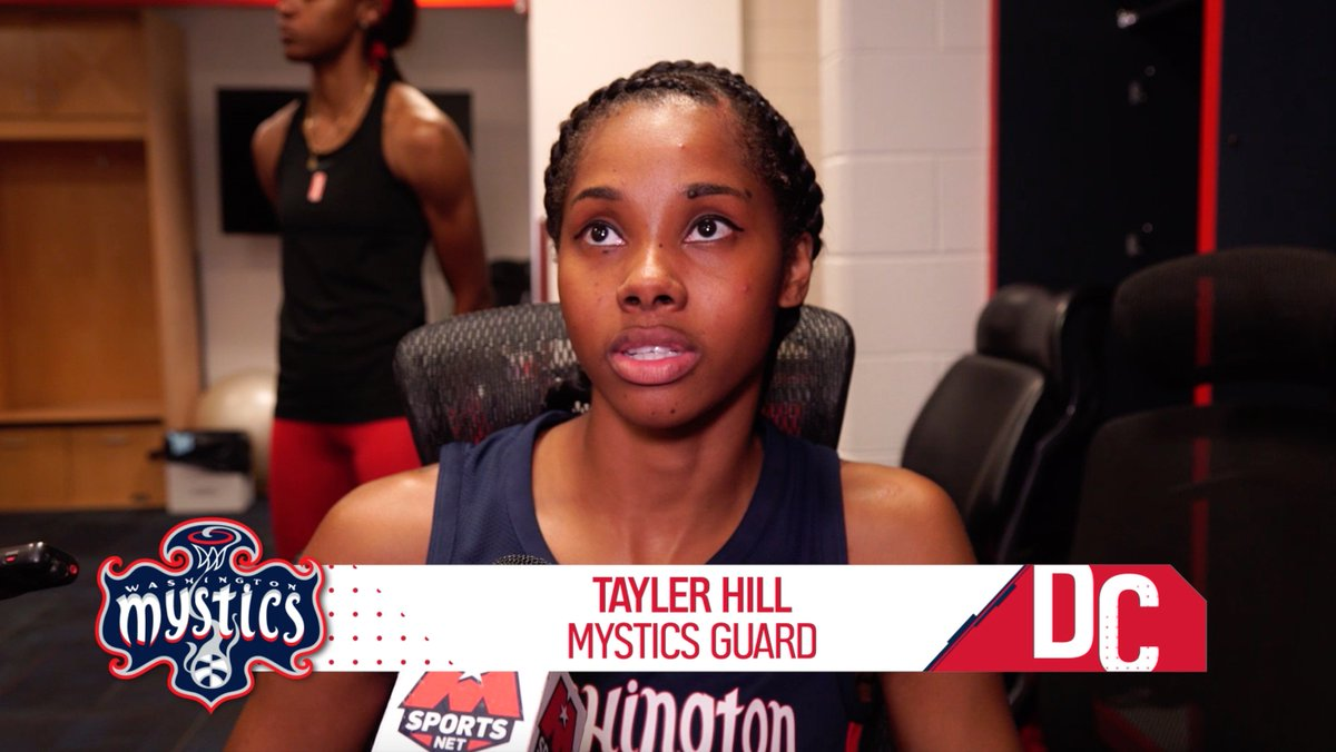 Support goes a long way! Tayler talks getting back on the court & Kristi talks team effort 🔊⬆️