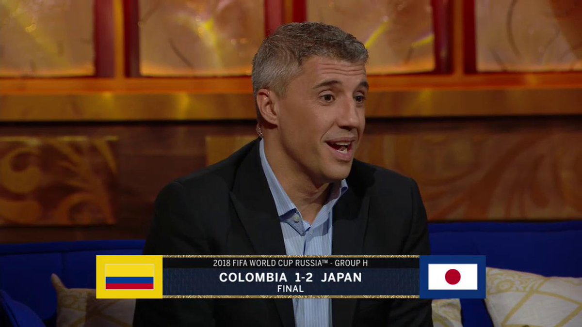 We catch up on Group H action where Japan got a surprise win over Colombia. Does Hernan @Crespo agree with the managers approach? Watch FIFA World Cup Tonight every night at 10pm ET/7pm PT on FS1 and Midnight ET/7pm PT on FOX