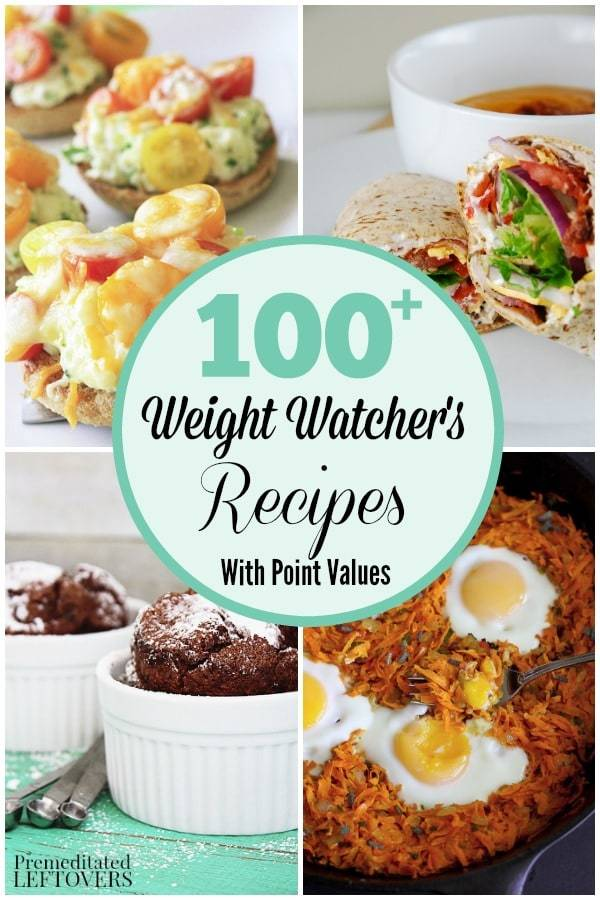 100+ Weight Watcher's #Recipes with Point Values https://t.co/wBikhspcF4 #Healthy #WeightWatchers https://t.co/handRA5saO