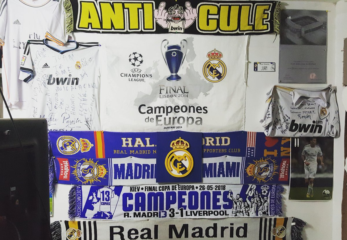 UN MADRIDISTA NICA's photo on #HalaMadrid