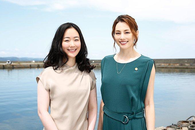 黒木華さんと米倉涼子さん