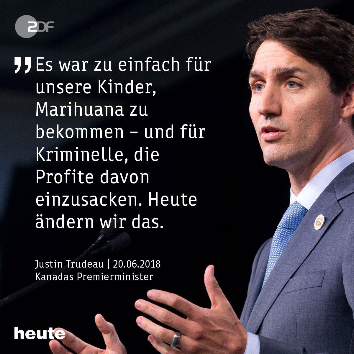 2015 war es ein Wahlkampfversprechen von Justin Trudeau, drei Jahre später ist auch die letzte parlamentarische Hürde überwunden: Kanadas Parlament legalisiert Cannabis.
