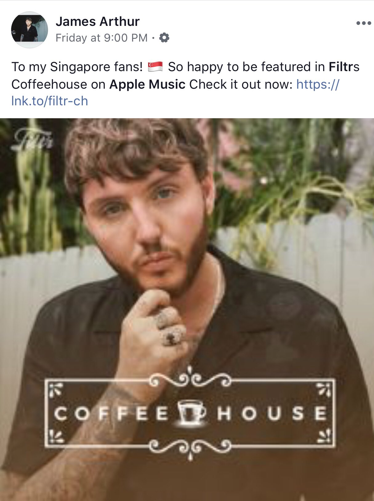 Sony Music Singapore On Twitter @Jamesarthur23 Showing Us Some With