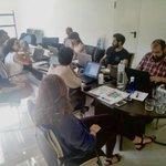Image for the Tweet beginning: Steering Committee meeting for