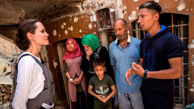 Some 68m people are now displaced by violence and persecution, but how do we alleviate this crisis? Angelina Jolie writes for @TheEconomist for #WorldRefugeeDay https://t.co/aAtsGmvvfo