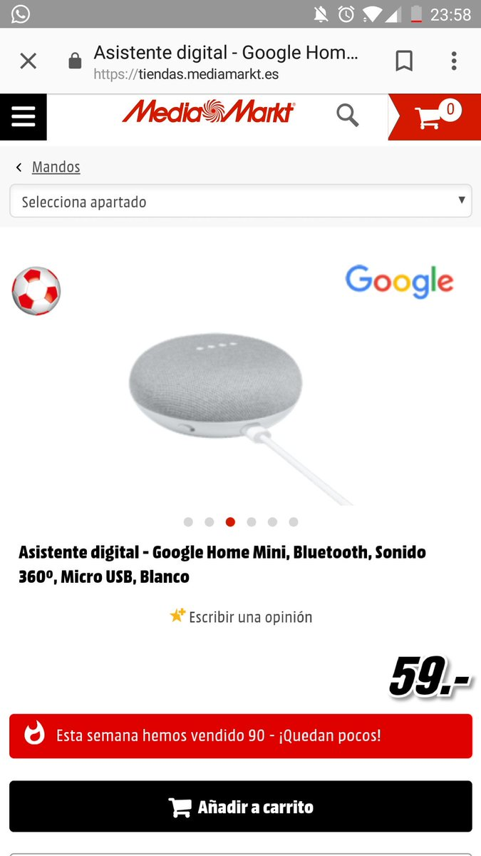 Google home mini mediamarkt