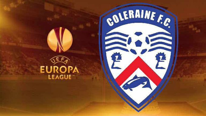 #ColeraineFC will find out who they will face in the first round of the Europa League at 11am. The draw will be streamed live on the UEFA website. A reminder that we will face one of the following sides below: Gornik Zabrze Vardar Dinamo Minsk Spartak Subotica OFK Titograd Photo