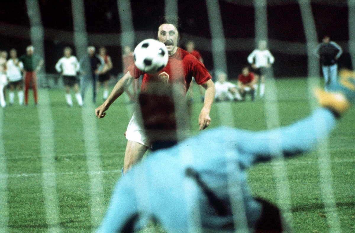 ON THIS DAY: In 1976, Antonin Panenka scored a goal that inspired future generations of penalty takers. 🇨🇿  'The Panenka' 😎