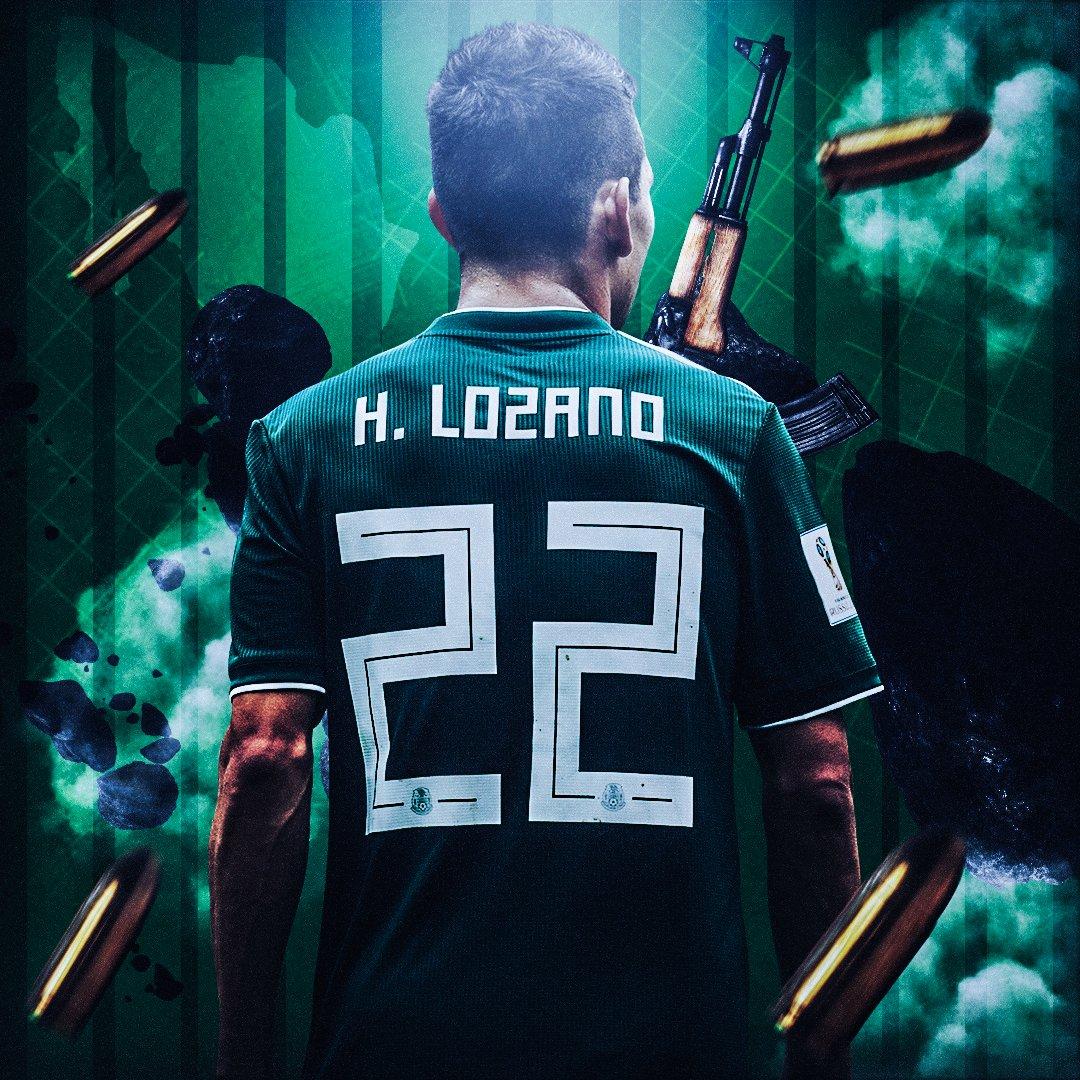 #MEX #Lozano #CDM2018 🤭 #Worldcup2018Russia #WC2018 #RUS ♟️ Behance : urlz.fr/7gr7 👀 Image en HD ici : urlz.fr/7grc 😍
