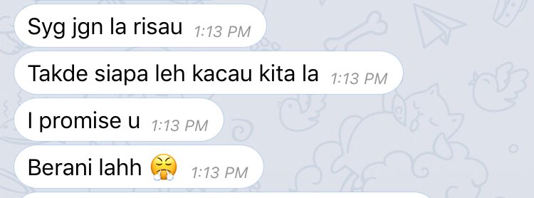 This is how my fiance try to calm me from being a thick ass egosss hahahahahahaha😂❤️