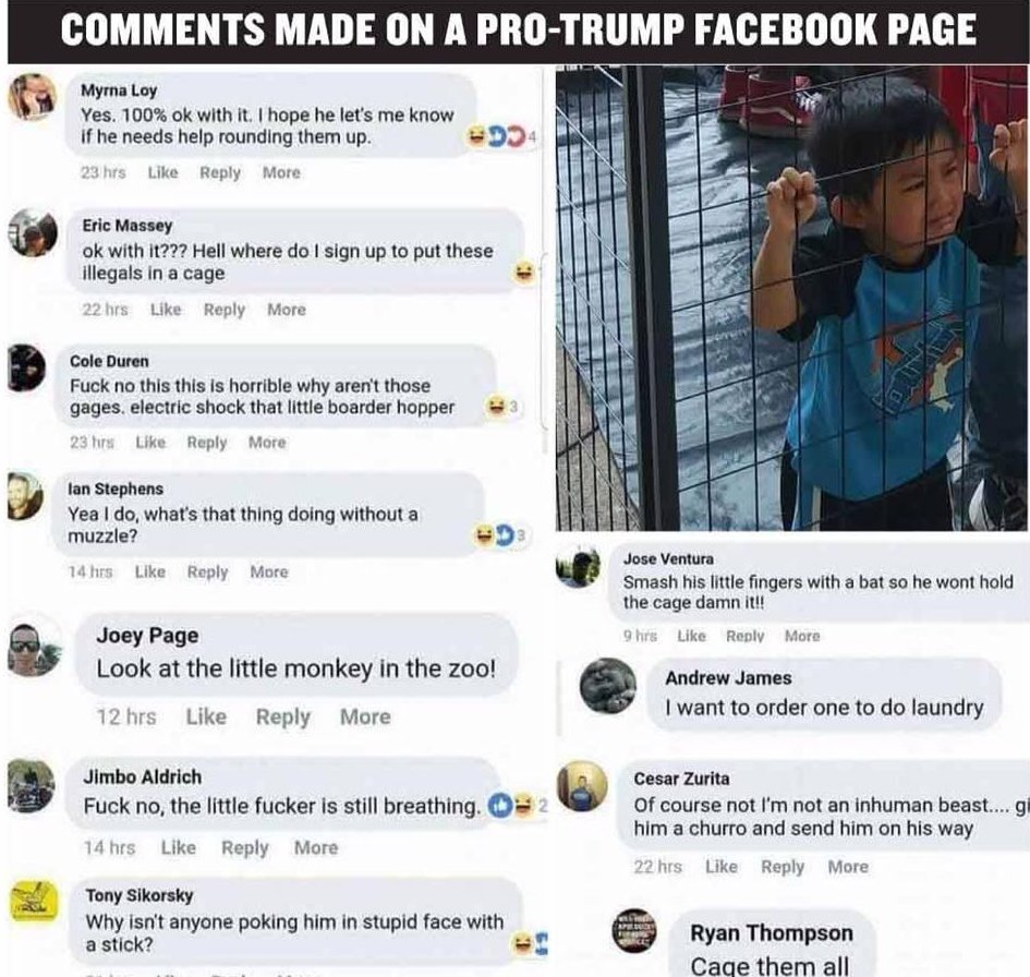This is whats going on a Pro-Trump FB page tonight. Just read this horseshit. cc: @McFaul