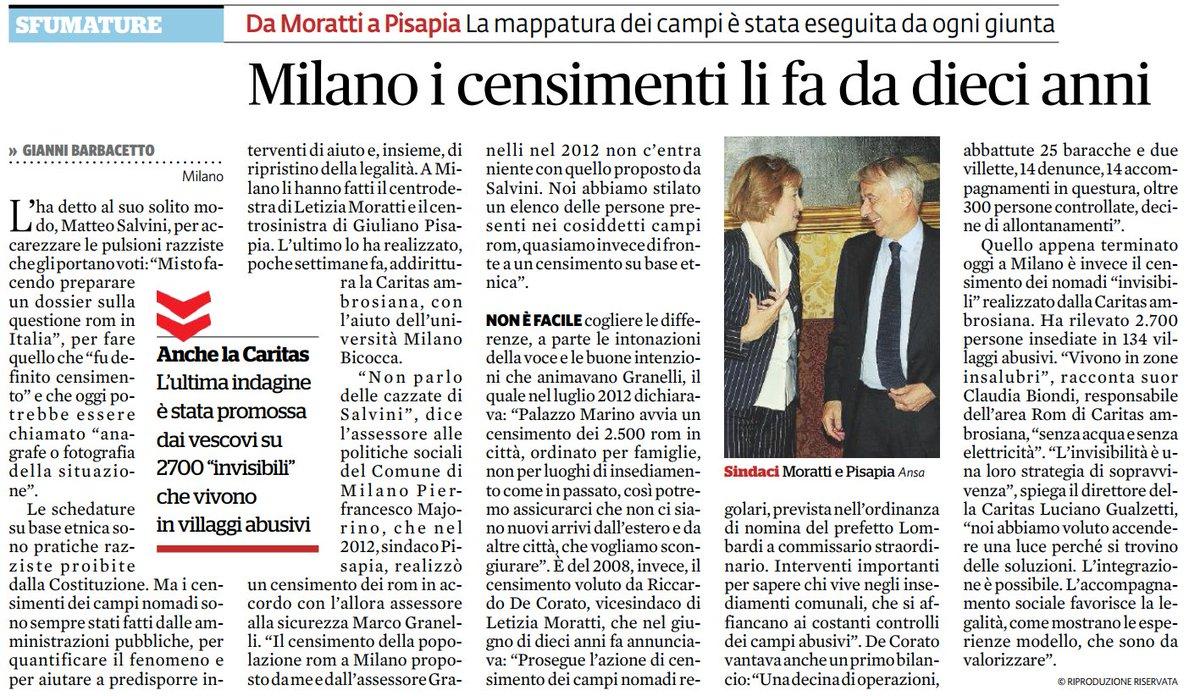 #Milano fa #censimenti sugli #invisibili da 10 anni dal #FattoQuotidiano  - Ukustom