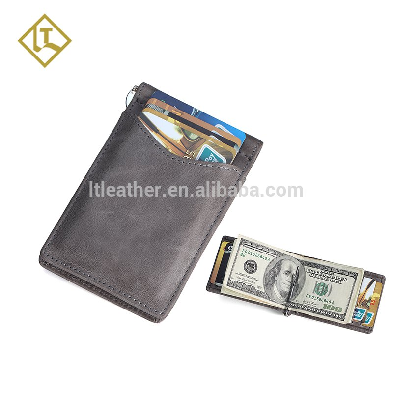 Tucker On Twitter High Quality Leather Money Clip Wallet Male