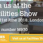 Image for the Tweet beginning: See us at #FAC18 @Facilities_Show