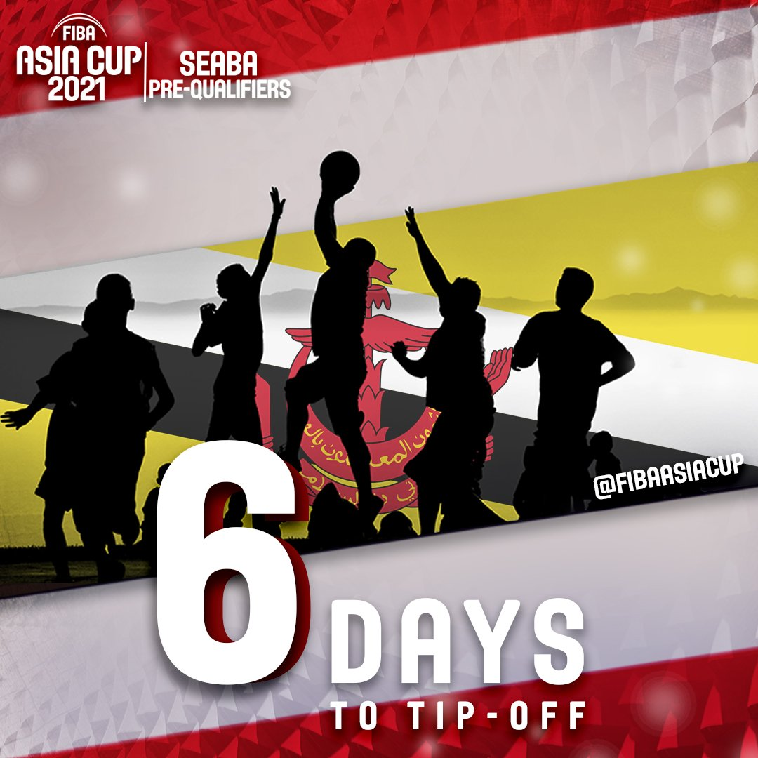 #FIBAAsiaCup SEABA PreQualifier 😤 Get ready for #Brunei 🏀🇧🇳 #bolakeranjang ➡️go.fiba.basketball/BRU_2018 #Livestream 👀🔛 go.fiba.basketball/_watchSEABA