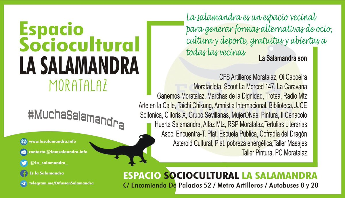 La Salamandra (@La_Salamandra_) | Twitter