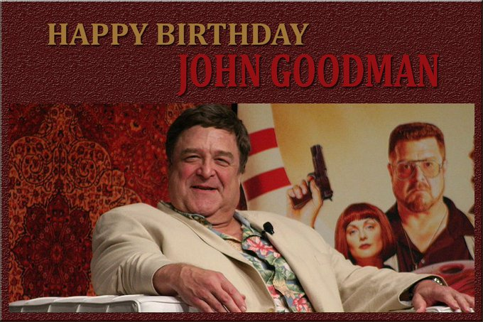 Indywood sending you A Birthday Wish Wrapped With our Love. Have a Happy Birthday John Goodman!!