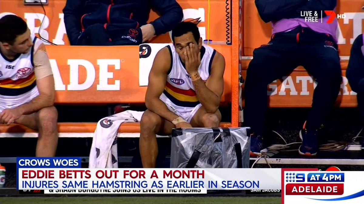 Nine News Adelaide's photo on Eddie Betts