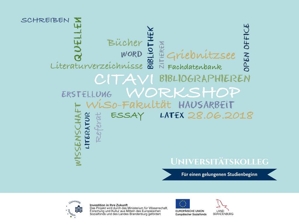 Universität Potsdam On Twitter Verwalte Deine Literatur Und