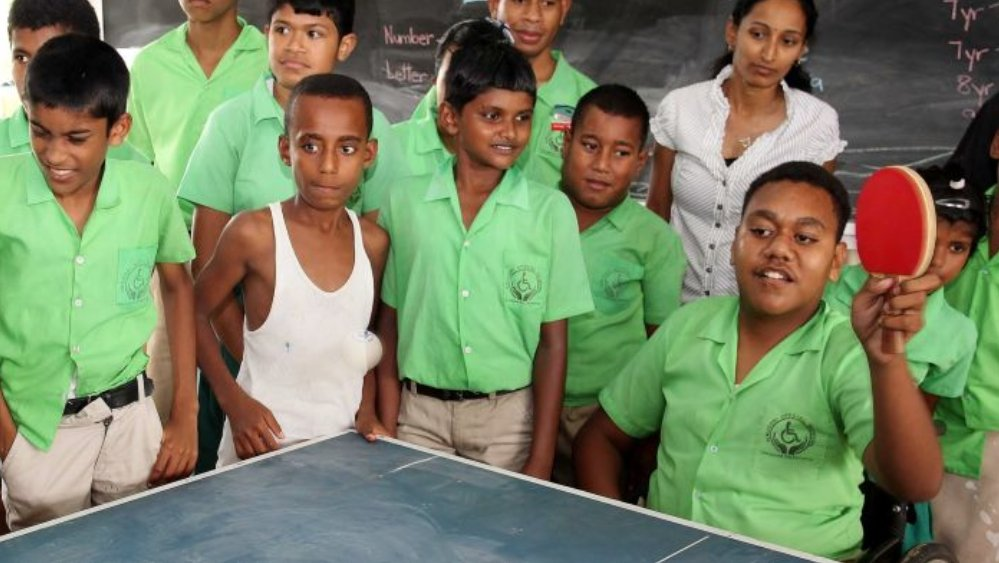test Twitter Media - See the stunning table tennis turn around, transforming a shy student to sports star. https://t.co/bJ9a7kgkuk  #Fiji #Pacific #SportsDiplomacy #tabletennis #disability #smashdownbarriers https://t.co/KYmkpkVrcZ