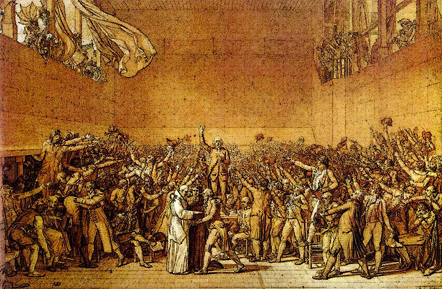 Onthisday In 1789 Members Of The Third Estate Of France Took The