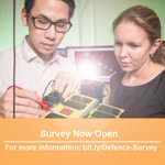 Defence is conducting an anonymous online survey to identify priority areas for workforce capacity and skills support in industry sectors which support Defence. Take the online survey today: https://t.co/wZ0ZnFnOSt Media release: https://t.co/1u55NA8gSJ