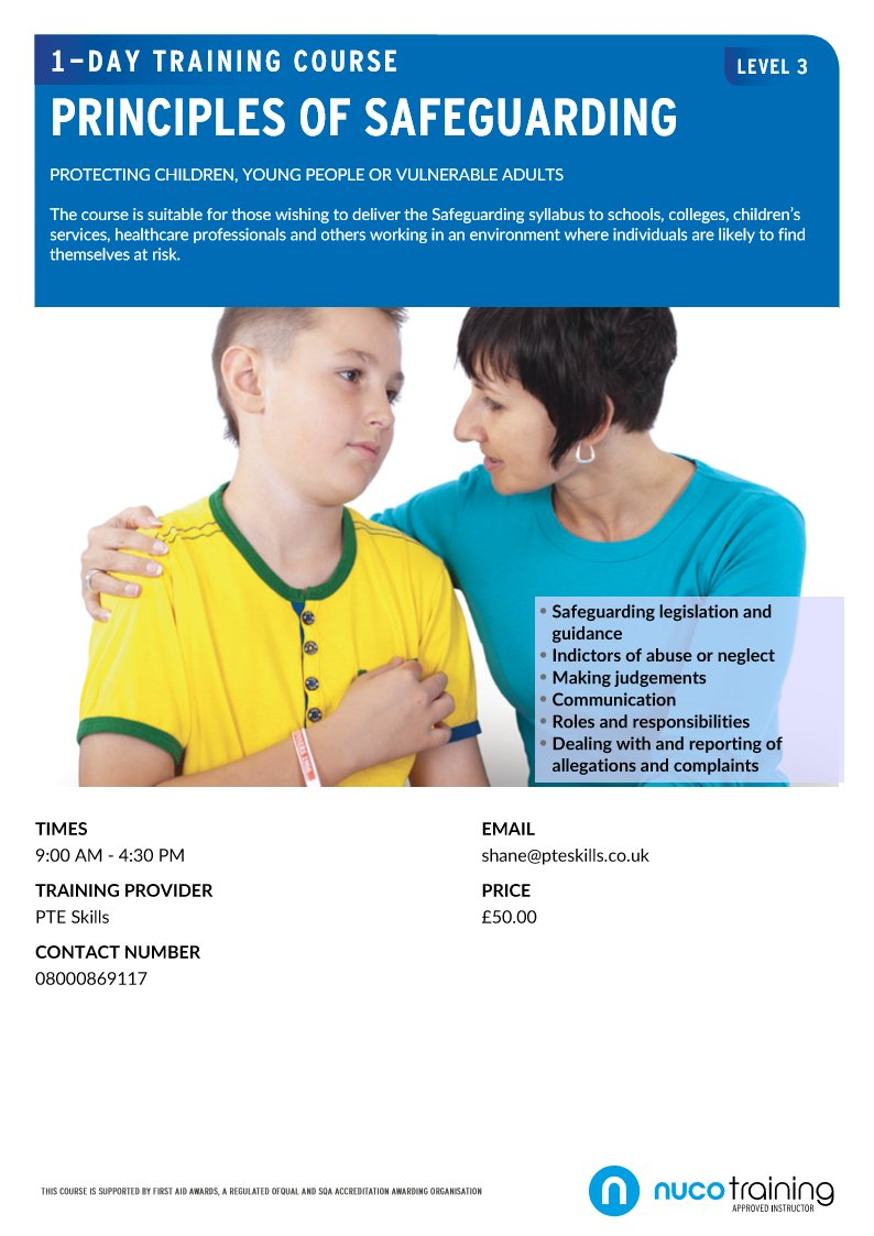 nvq level 3 principles of safeguarding Nvq level 3 1083 words   5 pages  principles of safeguarding and protection in health and social careoutcome 1know how to recognise the signs of abuseabuse can.