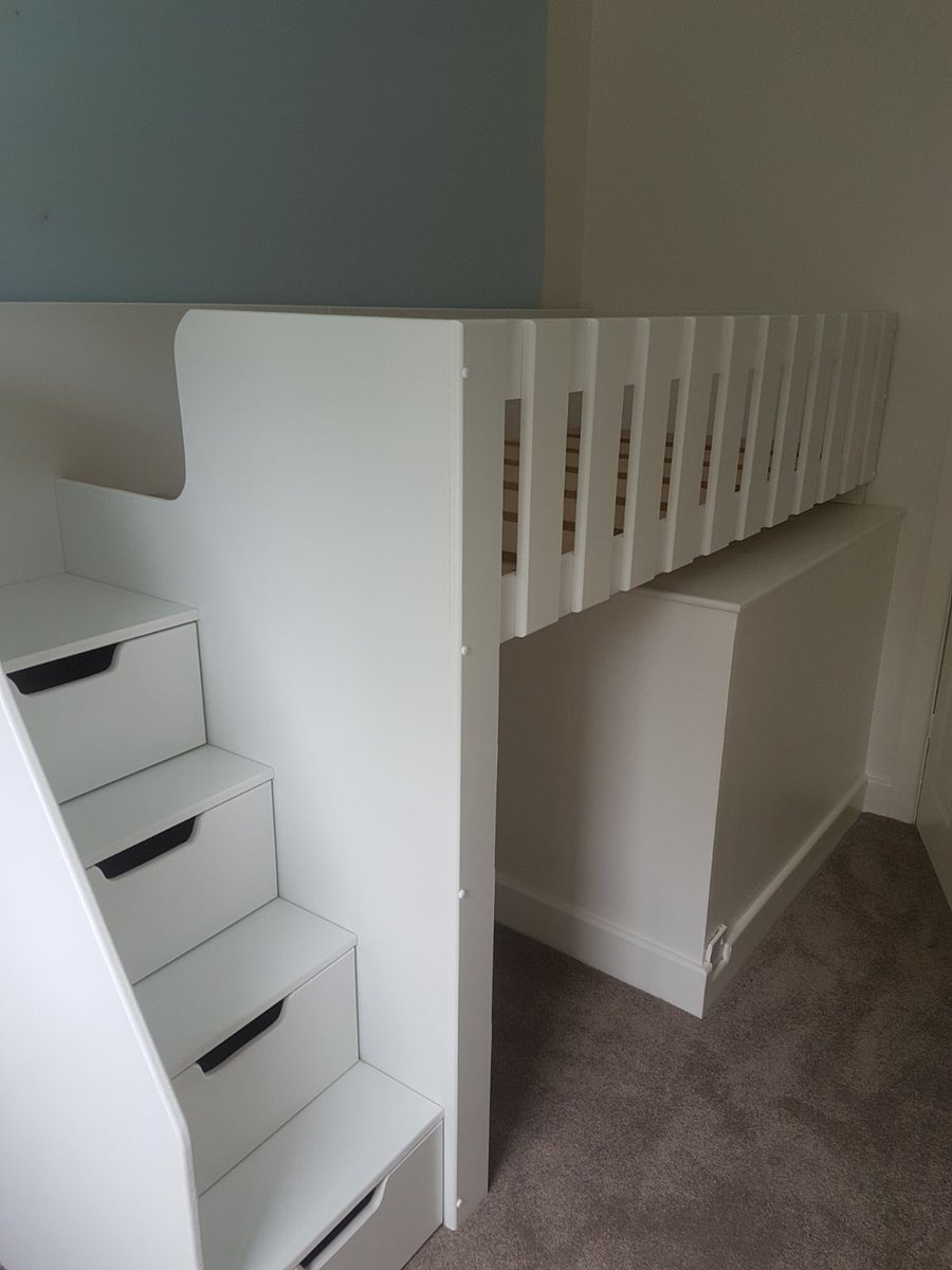 Funky Bunk Beds Limited On Twitter Bed Built Over Stairs Box To Utilise Space Available Spacesave Bed Children Drawers Storage Child Bedroom Girl Boy Design Quality Strong Sturdy Handmade Bespoke Modern
