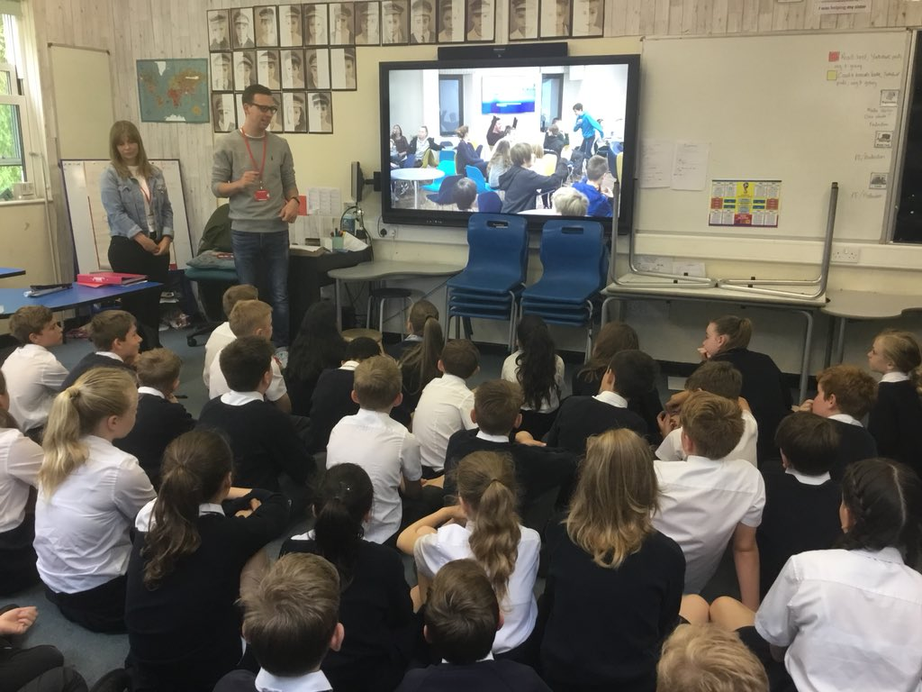 test Twitter Media - Thank you to Gemma and Matt from @WilmslowYouth who came in to talk to us about the Youth Centre at Wilmslow URC. This will be open to Y6 Gorsey Bank students and their parents next Thursday (28th) after school if anyone would like to have a look. https://t.co/49JpYvSpNG