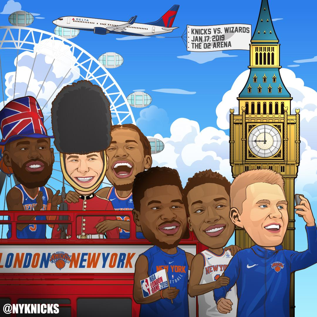 Ya right? We're going to London ���� Jan 17, 2019 vs. Wizards @ The O2 Arena �� Details at https://t.co/Nl9LDyJ0nz https://t.co/qTtbGLCPE7