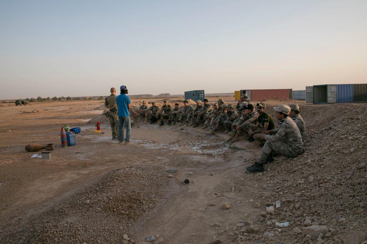 جهود التحالف الدولي لتدريب وتاهيل وحدات الجيش العراقي .......متجدد - صفحة 2 DgI0orvVMAYVFem