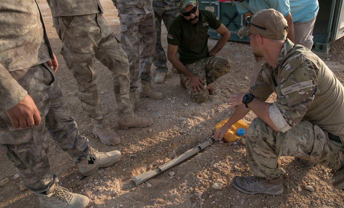 جهود التحالف الدولي لتدريب وتاهيل وحدات الجيش العراقي .......متجدد - صفحة 2 DgI0ouFXUAEe2Uh