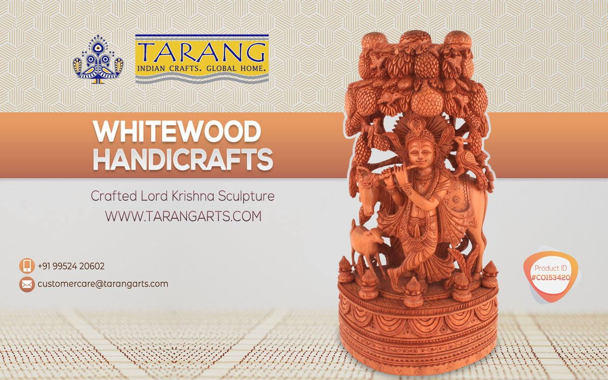 Jangadi On Twitter White Wood Lord Venugopala Krishna Tree For