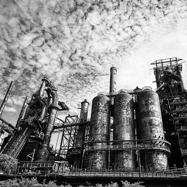 #bethlehem #steelstacks #factory #oldfactory #blackandwhite #htcu12plus #htc ift.tt/2tcrTKC