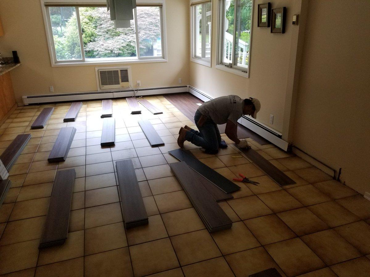 Customers Are Lovin The Lifeproof Flooring Thank You Usinstallations Wbagdanoff Entire Team At Usig