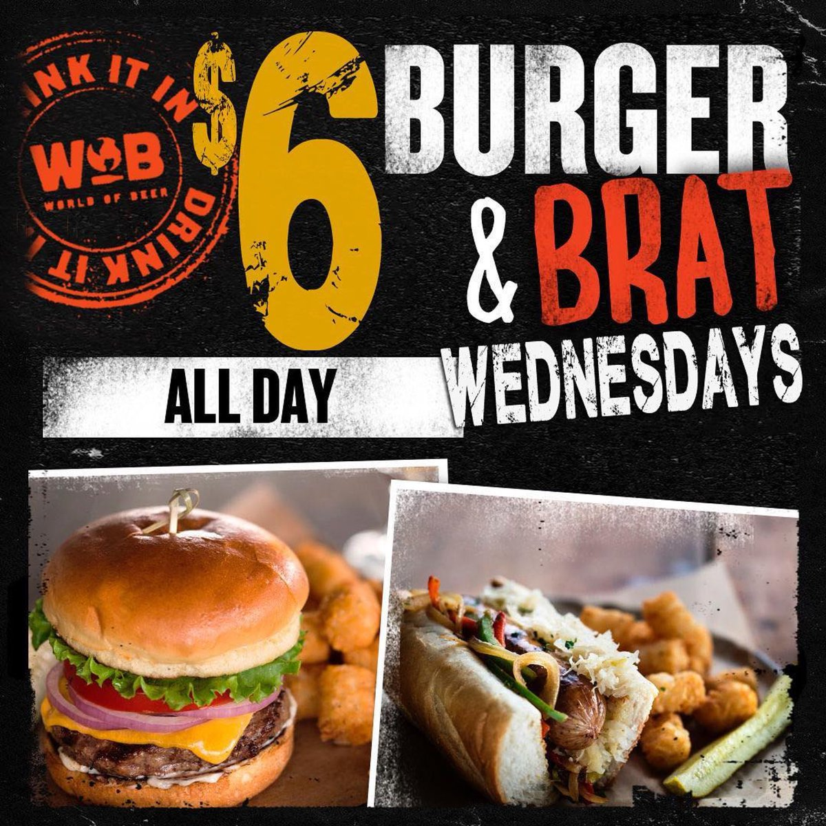 World Of Beer Syracuse On Twitter Get Over The Hump This Week With 6 Burgers Brats All Day Every Wednesday Burgers Brats Food Foodie Cuse Forkyeah Syracuse Ny Humpday Https T Co Lus77eu8ac