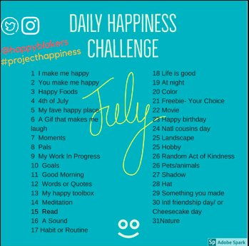 Join in the #bmsed #projecthappiness Daily Challenge for the month of July! Post IG and Twitter and tag to @HappyBlakers #HappyBlakers #msaachat #medfieldpln #medfieldps  #wheelockians #beproudbedale #memprek1 #edchatma #cpchat<br>http://pic.twitter.com/cRGbCHOPGE